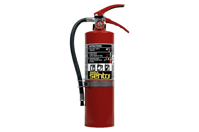 Ansul Sentry Dry Chemical Fire Extinguisher 5 Lb With