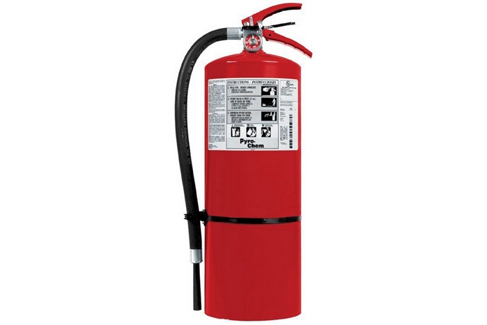 Pyro Chem Fire Extinguisher 10 Lb Abc